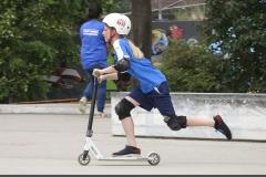 Skatepark-Mädchen