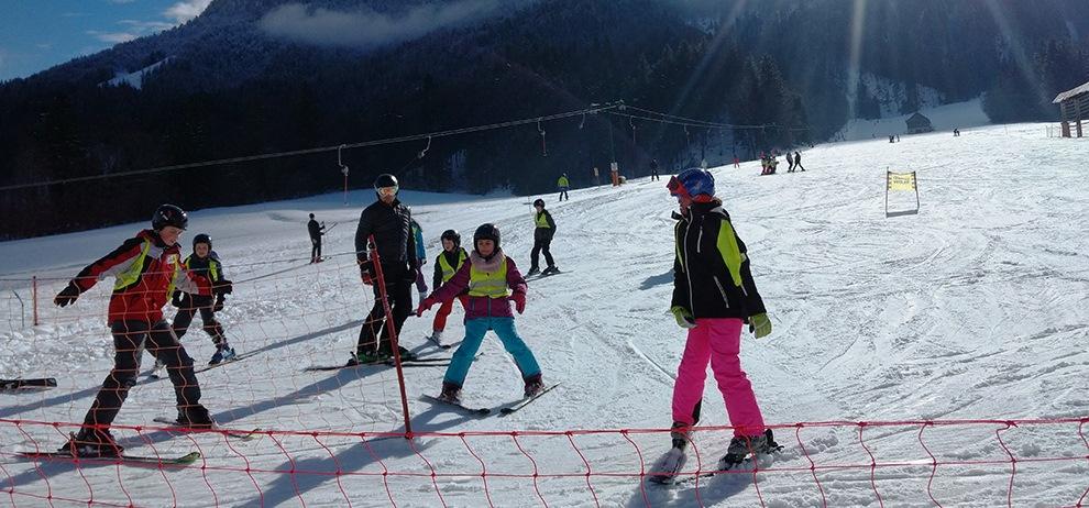 Skifahren Slowenien