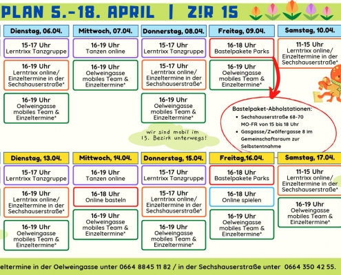 Wochenplan KW 14_15